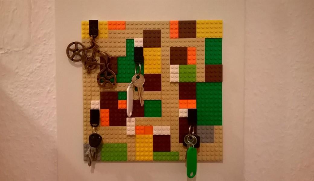 Lego Schlüsselbrett