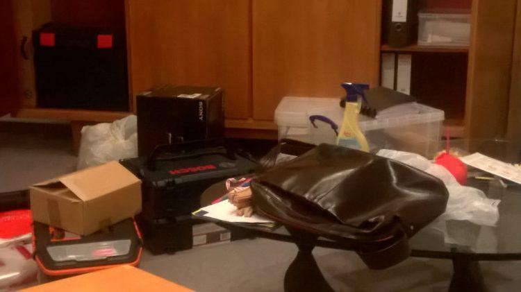 Selbständig mit Kind - Chaos im Büro