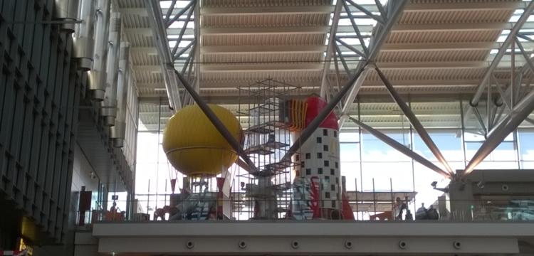 Flughafen McDonalds Hamburg Rakete